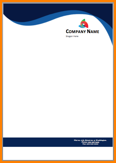 9+ letterhead design in word format free download | sample of invoice