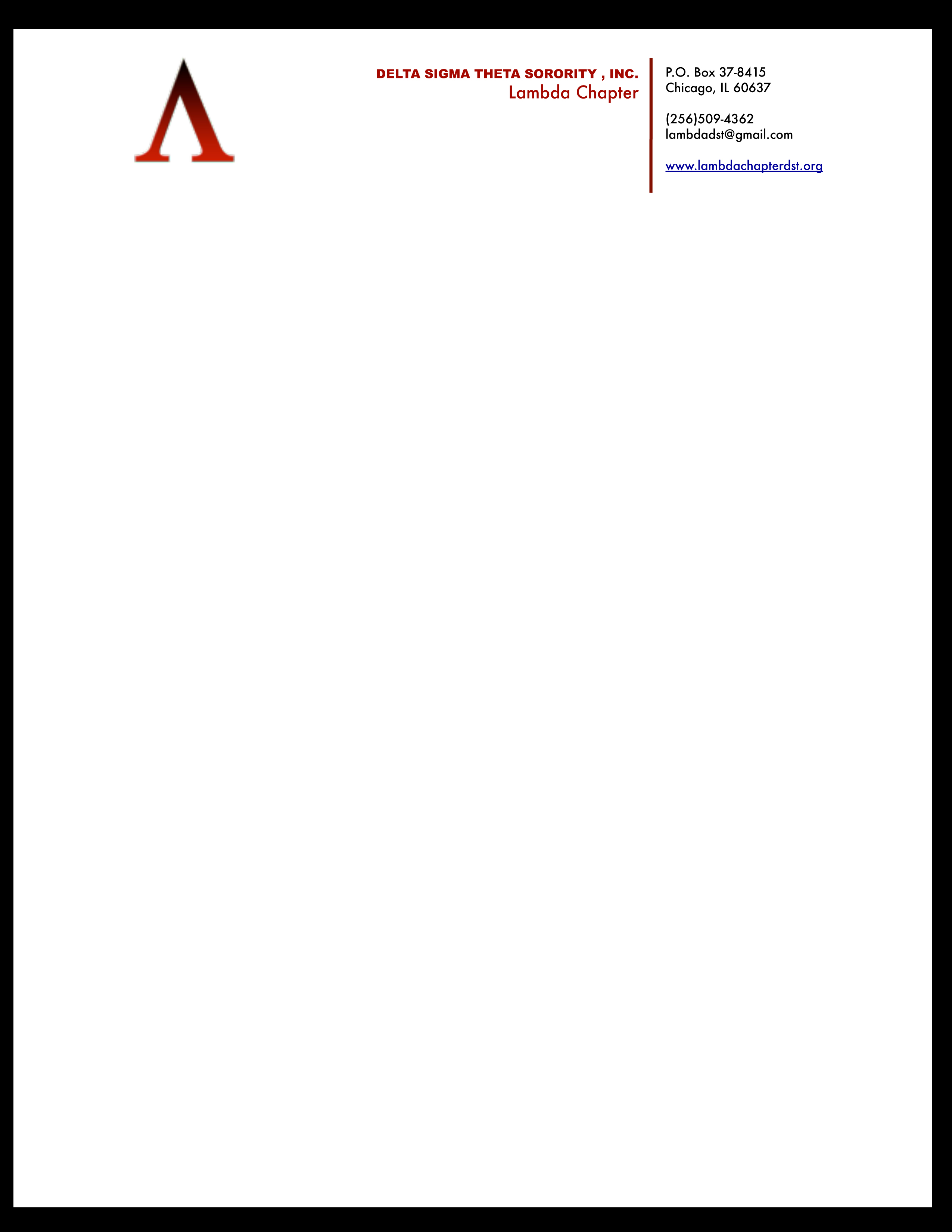 Letterhead Examples With Logo #5306
