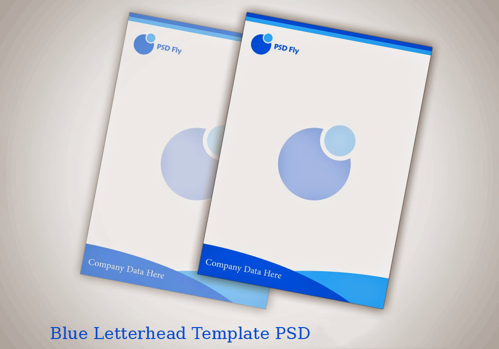 Free Vector PSD Company Letter Head Design Template