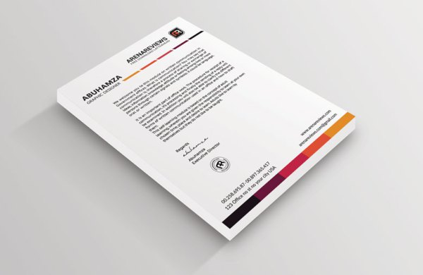 Free & Premium Letterhead Templates in Multiple Formats