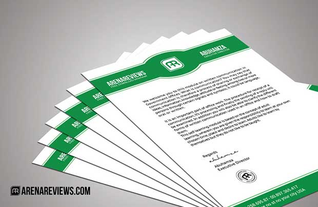 Free Letterhead Templates Available In PSD MS Word & PDF Formats