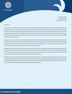 6 Free Letterhead Templates Excel PDF Formats