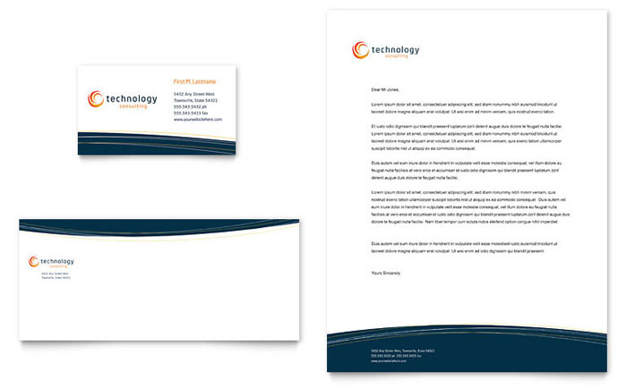Professional Letterhead Design Samples