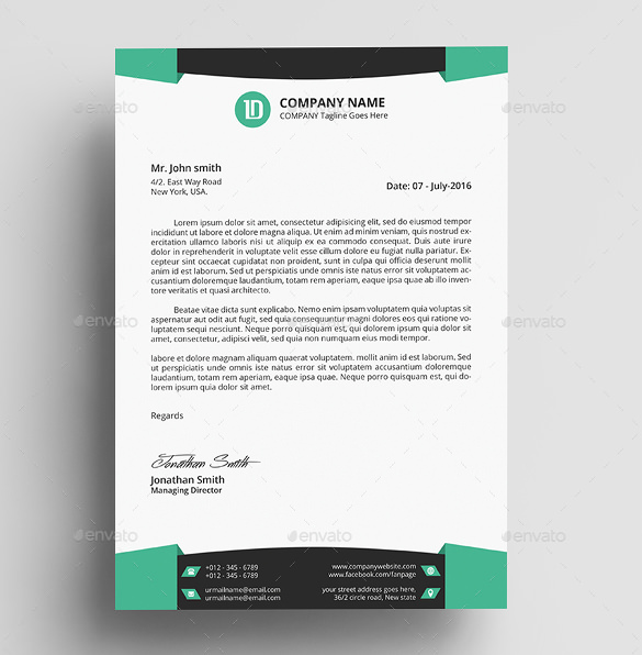 Letterhead Design Sample | Letterhead | Pinterest | Letterhead and